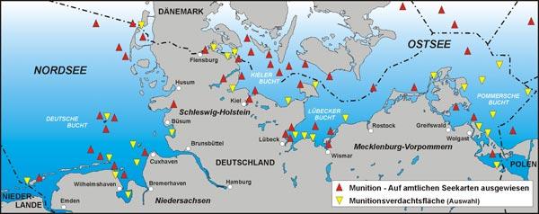 Deutsche Kuste Karte Goudenelftal
